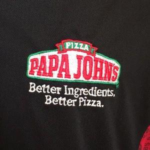 Papa Johns Shirts - 🍕 PAPA JOHNS PIZZA POLO SIZE EXTRA LARGE